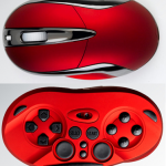 Shogun Bros. Chameleon X-1 on hiiri ja gamepad samassa