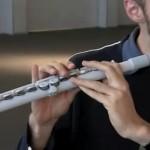 Toimiva 3D-tulostettu huilu on tulevaisuutta
