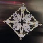 Droidflake on paperilumihiutale Tähtien sodan droideilla