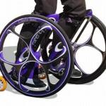 Chariot Skates, eli polkupyörän renkaiden kokoisilla rullilla varustetut rullaluistimet
