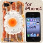 iPhone kotelo kuin pekoni munilla – kirjaimellisesti.
