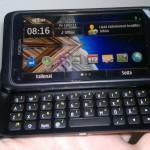 Testissä Nokia E7