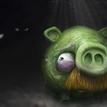 Angry Birds taiteen aiheena
