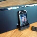 Hilavitkutin testi: Sony RDP-X50iP kaiutintelakka