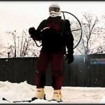 Sergei, sukset ja propellireppu