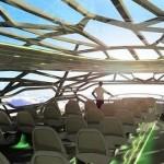 Airbus esitteli läpinäkyvän matkustajakoneen