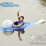 Kiinalaismies rakensi itselleen 10 tunnin sukelluksiin pystyvän sukellusveneen