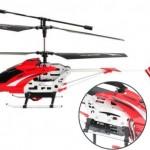 Hawkspy – radio-ohjattava helikopteri videokameralla alle satasella!