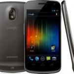 Android 4 käyttöjärjestelmä ja Samsung Galaxy Nexus ulkona