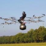 E-volo on ensimmäinen ihmisen lennettävä sähkömultikopteri