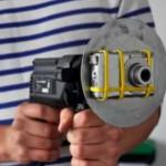 """Vanha """"videokamera akkuporakoneeseen"""" -temppu"""