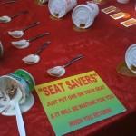 Seat Savers on varma tapa pitää oma istumapaikka vapaana