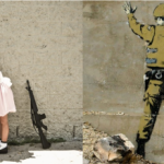 Nick Stern: You are no Banksy, eli Banksyn kuvia reaalimaailmassa
