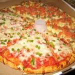Tutkijat kehittivät terveellisen pizzan