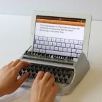 iTypewriter muuntaa iPadin perinteiseksi kirjoituskoneeksi