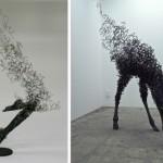 Tomohiro Inaban rautaveistokset saavat massan katoamaan