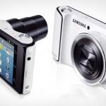 Samsung Galaxy Camera Hilavitkuttimen käpisteltävänä