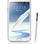 Samsung Galaxy Note II Hilavitkuttimen käsittelyssä