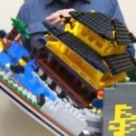 Pop-up legolaatikko on hämmästyttävä legorakentamisen taidonnäyte