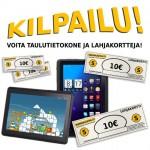 Kilpailu! tilaa Hilavitkuttimen uutiskirje ja voita tablet -tietokone!