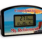 Big Mouth Toys Countdown Timer laskee aikaa eläkkeeseen