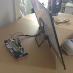 Able-HD on mukana kulkeva näyttö rakentelijoille