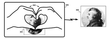 google_patent_hand_gesture