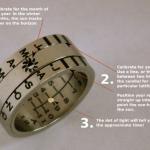 Sundial Ring – Aurinkokello sormuksessa