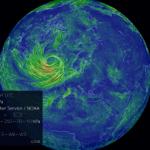 Earth wind map kertoo mistä päin tuulee