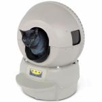 Automaattisesti tyhjentyvä kissanhiekkalaatikko
