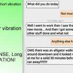 Mumble! – tekstiviestien lajittelua värinän avulla
