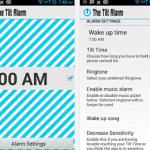 The Tilt Alarm – nerokas herätyskellosovellus älypuhelimeen