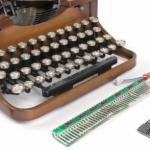 USB Typewriter Conversion Kit muuttaa vanhan kirjoituskoneen tietokoneen näppäimistöksi