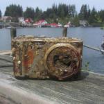 Kamera ja muistikortti säilöivät kuvat kaksi vuotta merenpohjassa