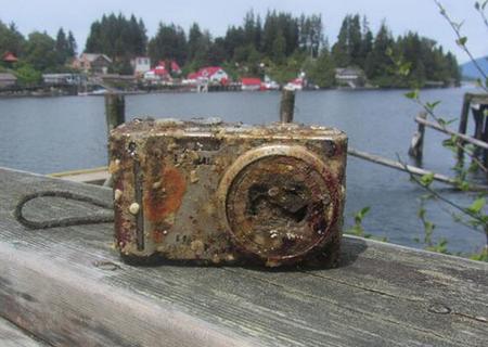 rikkinäinen kamera