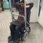 Pian potilaat pysytyvät ohjaamaan pyörätuoliaan silmien liikkeillä