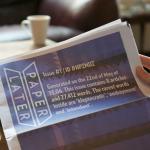 PaperLater-niminen palvelu painaa digitaalisen sisällön sanomalehdeksi