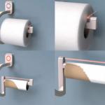 RollScout on yksinkertainen laite, joka varoittaa WC-paperin loppumisesta
