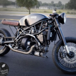 Maailman ensimmäinen pekonilla kulkeva moottoripyörä valmistautuu ensimmäiseen koitokseensa