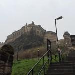 Harry Potter kirjoja inspiroinut Edinburghin linna
