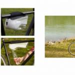 Fontus on polkupyörään kytkettävä juomapullo, joka täyttyy itsestään vedestä