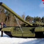 Ilmalla täytettävä panssarivaunu saa varmasti naapurit haukkomaan henkeään