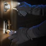 LED-polttimoilla varustetut hanskat tuovat piristystä talvi-iltoihin