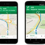 Google Maps osaa jatkossa neuvoa oikean ajokaistan myös muutamassa Euroopan maassa