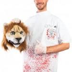Leijonantappajahammaslääkärin naamiaisasu