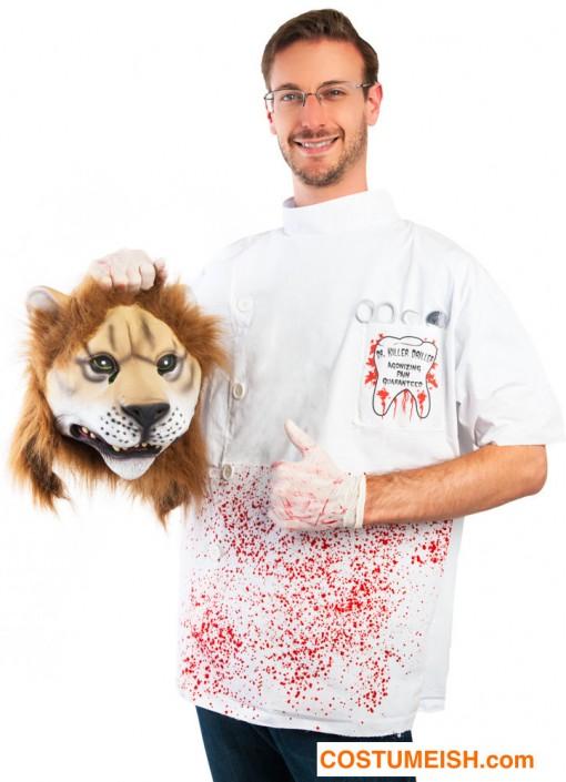 cecli-leijonantappaja-hammaslaakari-naamiaisasu