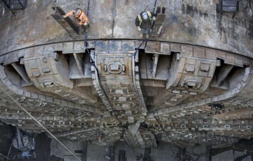Big Bertha -poran kaivuupää