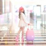 Kissa-matkalaukku Fravel on suunniteltu käyttäytymään kuin kissa
