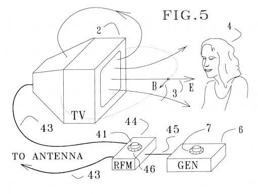 Elektromagneettinen säteily TV:n kautta