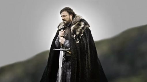 Eddard Stark ja Ice-miekka